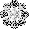 سیم بکسل 8X19 (Seal) + IWRC