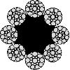 سیم بکسل 8X19 (Seal) + FC