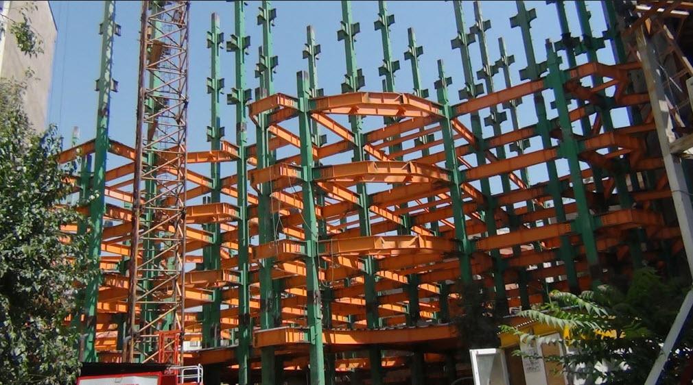 اتصالات پیچ و مهره سازه های فولادی